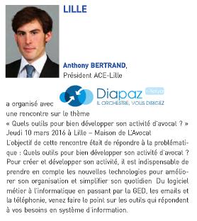 Diapaz présent dans la revue «Conseils & Entreprises» de l'ACE