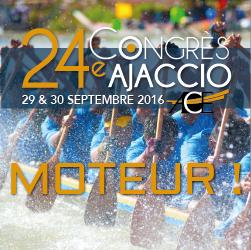Le 24ème congrès ACE à Ajaccio approche à grand pas !