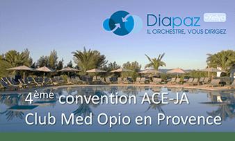 Diapaz sera présent à la 4ème convention ACE-JA