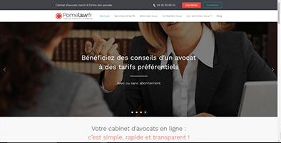 Pomelaw.fr, premier cabinet d'avocats d'affaires 100% en ligne