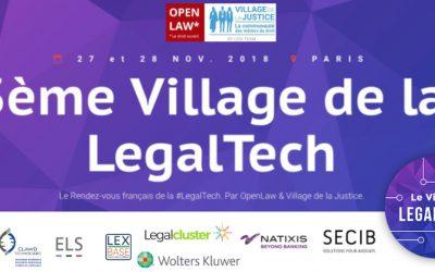 Village de la Legaltech – 27 & 28 novembre