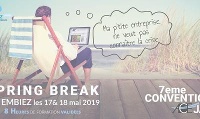 Spring break 2019 aux Embiez avec ACE-JA