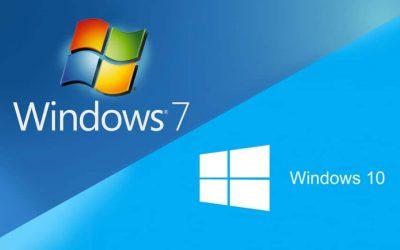 Fin de support Windows 7