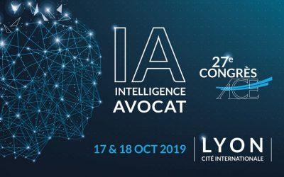 Congrès ACE sur le thème « IA Intelligence avocat ! »